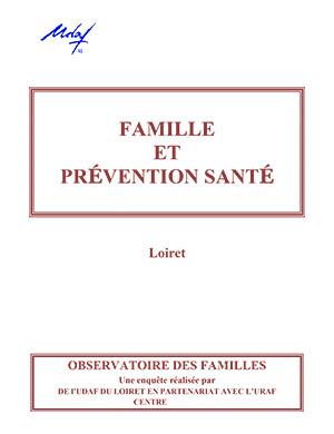 Famille et prévention santé